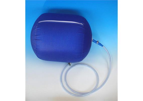 Abdichtballon 600 mm mit Schlauch und Kugelhahn