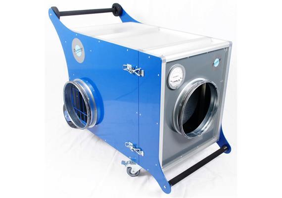 Absaug- und Filtereinheit SFU-450 230V / 1.4 KW, für Wohnraumlüftungen KWL