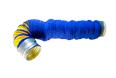 Absaugschlauch D=160 mm, 5m leicht, flexibel, Spiralflex-Gewebeschlauch