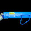 Absaugschlauch D=160 mm, 5m leicht, flexibel, Spiralflex-Gewebeschlauch | Bild 2
