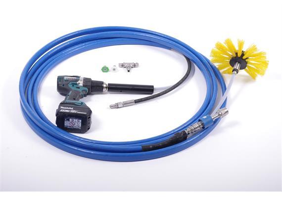 CombiShaft CShf-8 halb-flexibel, 8m für Rohre, zum Waschen und Desinfizieren