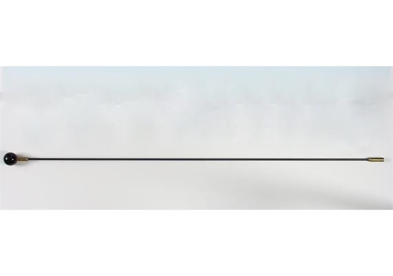 Federstahlstab 4.5mm / M6 / 100 cm mit Kugelgriff PP