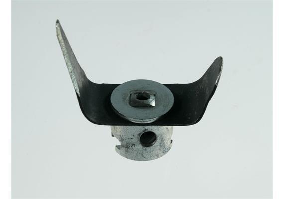 Gabelschneidekopf LRS 40 mm zum Auffräsen von Verschlussstopfen in KWL Leitungen