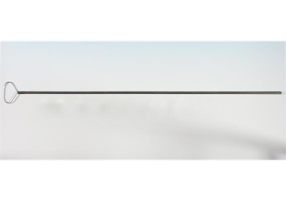 Hovalgriff aus Stahlrohr M8 / 103 cm