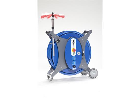 Komfort-Reiniger E-30 Reinigungsgerät für Lüftungsrohre von 65 bis 300 mm