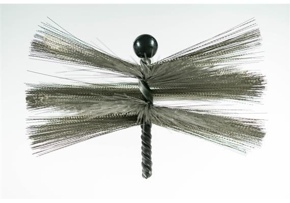 LRS Lüftungsbürsten Edelstahl / 200 mm