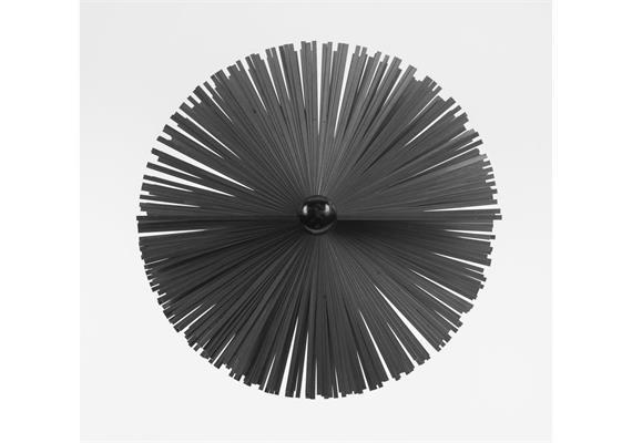 LRS Luftkanalbürste Flachstahl 200 mm passend auf LRS-Klemmstück