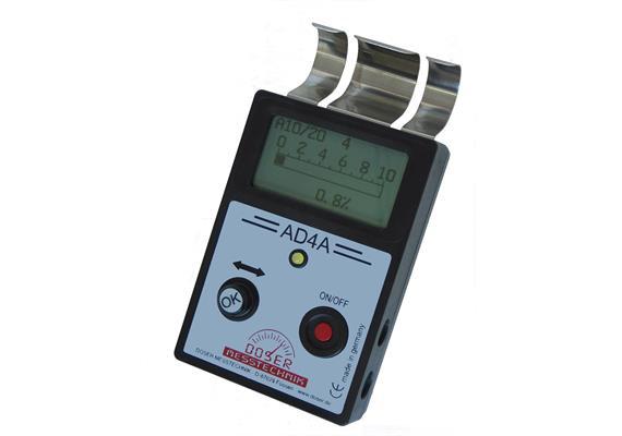 Materialfeuchte Messgerät AD4A für Holz, Baustoffe, Isolierstoffe, Papier Pappe etc.