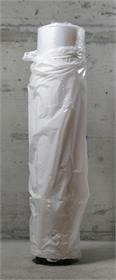 Plastikschlauchrolle Grösse 100cm Stärke 0.05mm Gewicht 25 kg