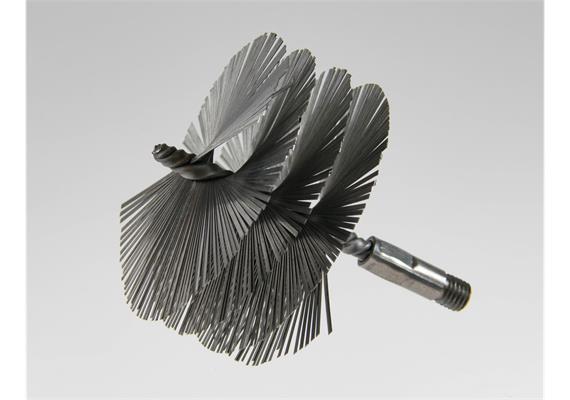 Reparaturbürste M12 / Putzmaus für Rohrdurchmesser 61 - 80 mm
