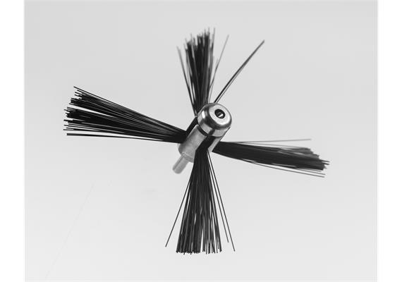 Riflex 125 mm Rotierende Reinigungsbürste Lüftungsrohre