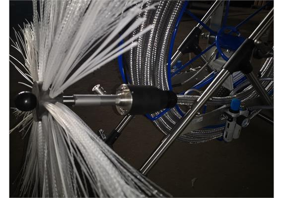 Robuster Schutzschlauch aus Metallgeflecht für Multitube P-25/PDW-25