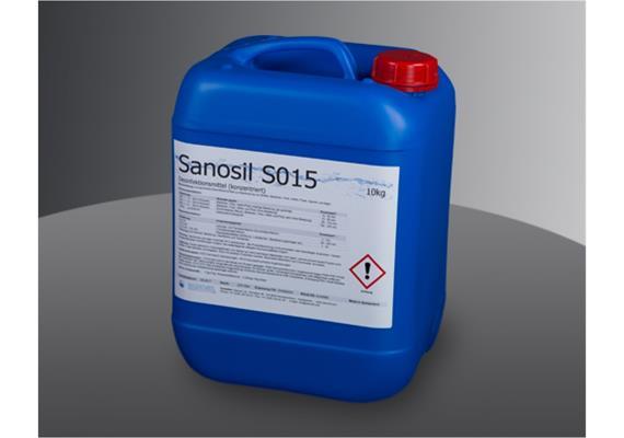 Sanosil S015, 10 Liter Kanister Desinfektionsmittel für Oberflächen Nettopreis