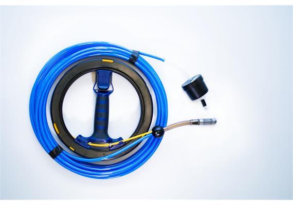 Saugspirale-Wasser KWL Länge 15m, komplett mit Kompakthaspel