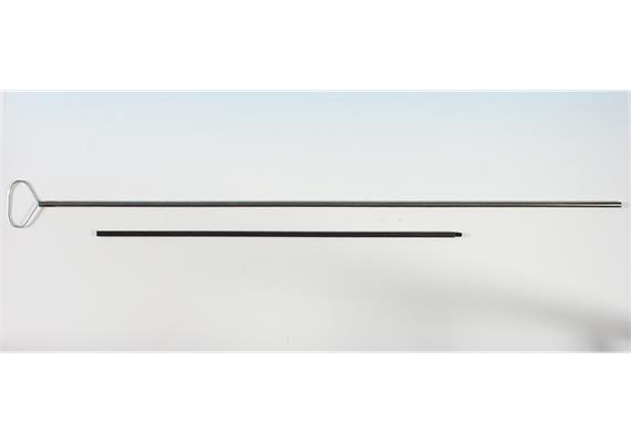 Verlängerung zu Hovalgriff M8 / 60 cm