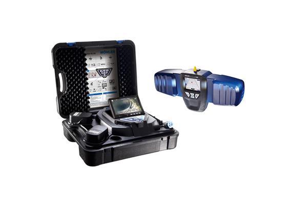 VIS 350 Videoinspektionskamera mit Ortung L-200 im Profiset, steckbar