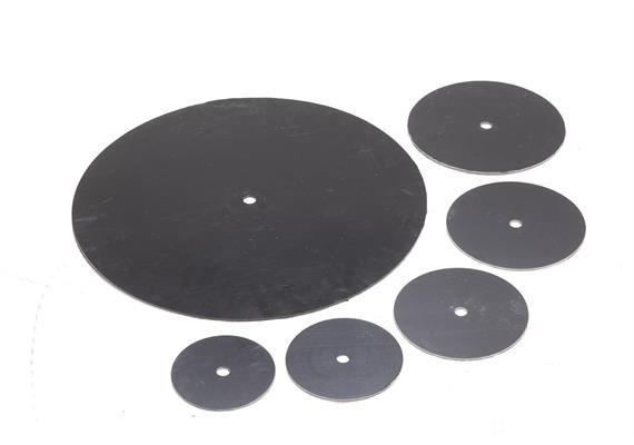 Zentrierplatten für Luftkanal-Bürsten Set 315 - 800 mm