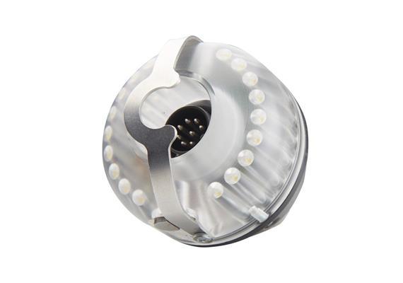 Zusatzbeleuchtung VIS für Kamerakopf 40 mm und 26 mm, steckbar